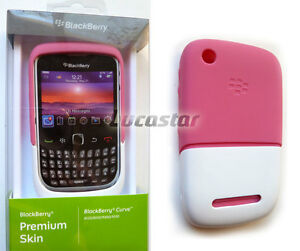 Blackberry-8520-Funda-Premium-ROSA-BLANCA-Original