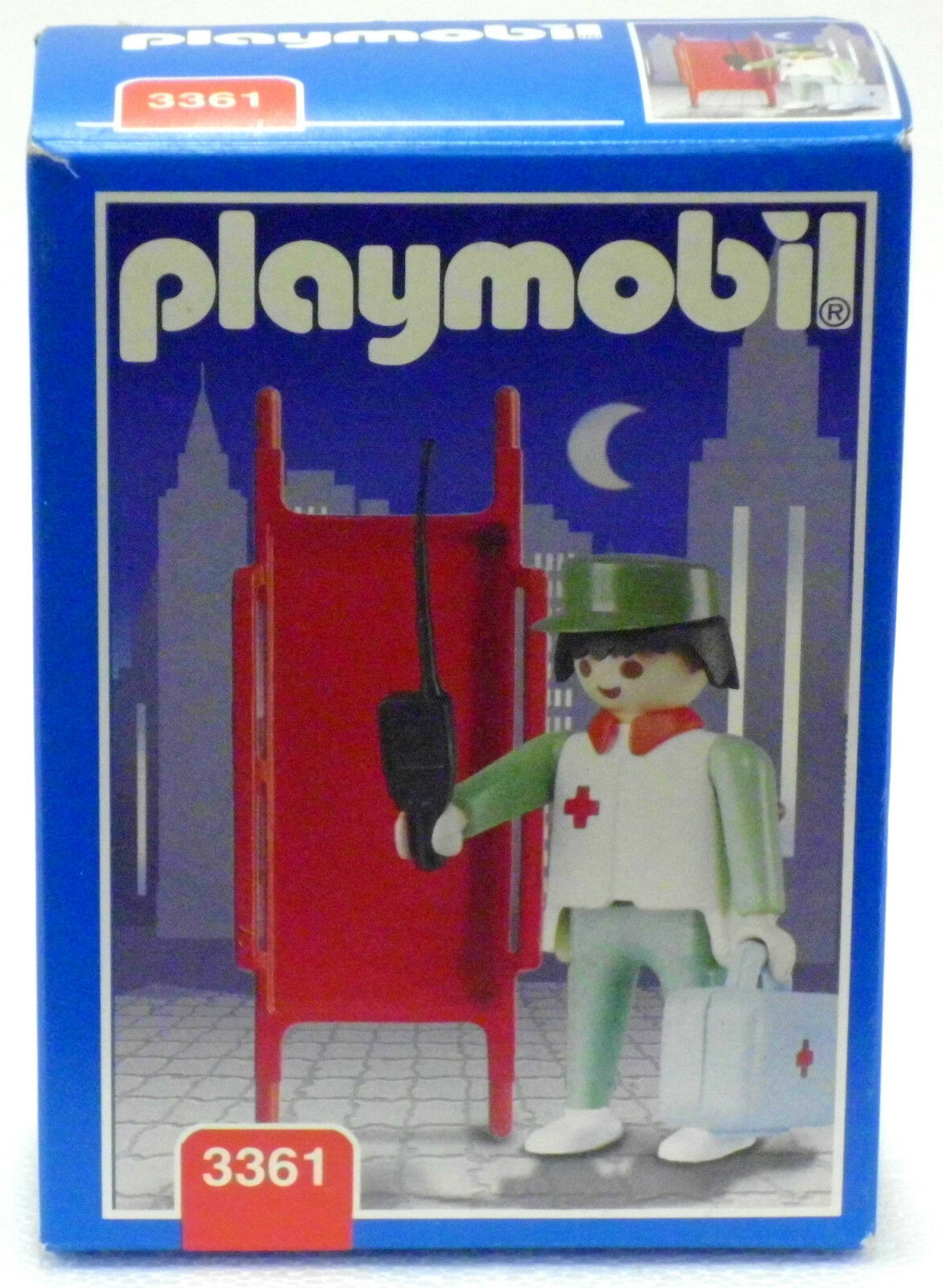 Green Medic Playmobil 3361 V. `96 Collection Hospital New New New Original Box NEW  59b966