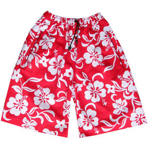 eb2581c326 Mens Flower Board Designer Swim Skate Long Sports Shorts Surf Skate ...