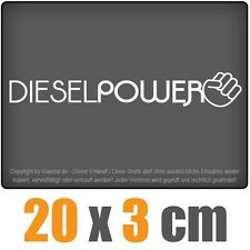 Diesel Power 20 x 3 cm JDM Decal Sticker Aufkleber Racing Die Cut