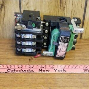 GE CR206C0 SIZE 1 120 VOLT COIL STARTER