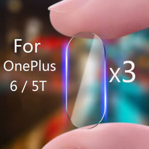 For OnePlus 6 5T  2.5D Back Camera Lens Tempered Glass Screen Protector Film