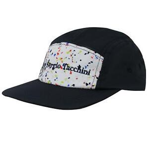 Sergio Tacchini Inkpot Baseball Cap Unisex Curved Peak Hat Blue 38154 274 A30A