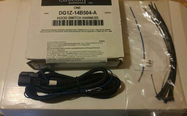 oem ford explorer hood safety switch wiring kit dg1z14b504a ebay rh ebay com 2015 ford explorer wiring harness 2013 Ford Explorer