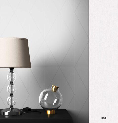 NEWROOM Vliestapete Weiß Geometrisch  Grafik Vlies  Modern 3D Optik Vlies Tapete