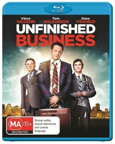 1 of 1 - Unfinished Business..BLU RAY..VINCE VAUGHN..NEW & SEALED  dvd277