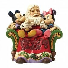 Disney Traditions 4046017 Christmas Wishes (Santa With Mickey..) New & Boxed