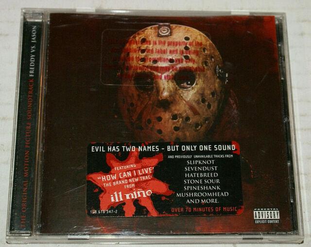Freddy Vs Jason Original Soundtrack Pa By Original Soundtrack Cd Aug 2003 Roadrunner Records For Sale Online Ebay