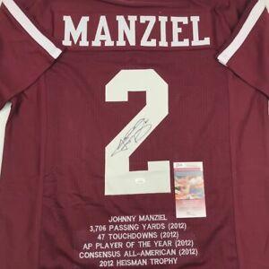 johnny manziel college jersey sales