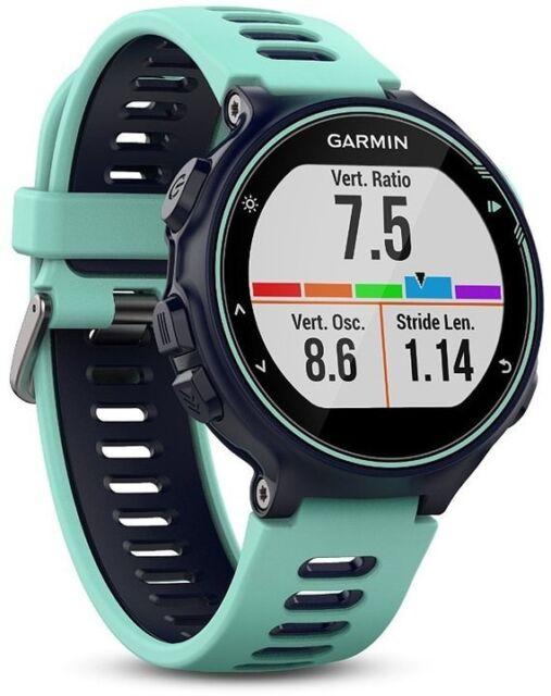 Garmin Forerunner 735XT blau Multisport GPS Aktivitätstracker Fitness Sportuhr