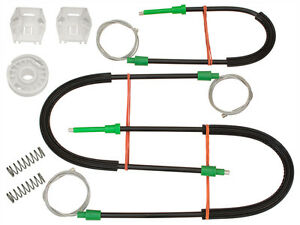 FRONT-ELECTRIC-WINDOW-REGULATOR-REPAIR-KIT-LEFT-1-SET-FOR-SAAB-9-3-II-YS3F