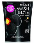 Dylon Machine Wash & Dye Fabric Clothes Velvet Black 350g