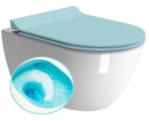 Wand Wc Randlos Hange Wc Norm Mit Swirlflush System Toilette