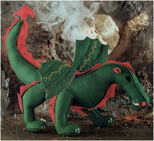 Fairy-tale Dragon Soft Toy Diagram Sewing Pattern S10097 NOT FINISHED ITEM