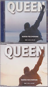 Queen-Heaven-For-Everyone-Deleted-UK-7-track-2CD-single-set