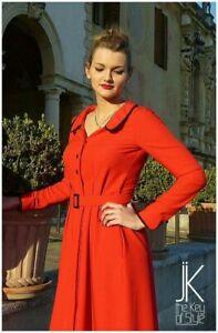 Vestito-swing-anni-40-modello-Katharine-sartoriale-fatto-a-mano-swing-Lindy-hop