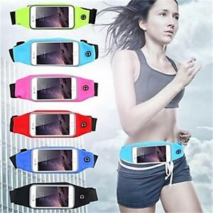 US Sports Running Jogging GYM Waist Band Belt Phone Case For iPhone 6/7/8 Plus