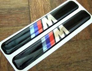 bmw m tec wing badge emblem sticker m3 e46 e90 e36 e92 ebay. Black Bedroom Furniture Sets. Home Design Ideas