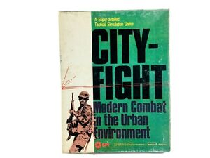 Vintage SPI Military Wargame CITY FIGHT Modern Urban Combat 1979 Game UNPUNCHED