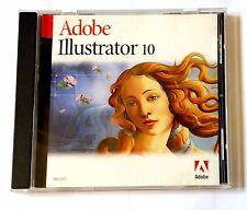 Adobe Illustrator 10 Windows deutsch Vollversion MWST Retail