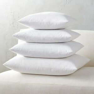 Euro-Square-Pillow-Insert-FEATHER-DOWN-Inner-Cushion-Feather-Feather-Insert