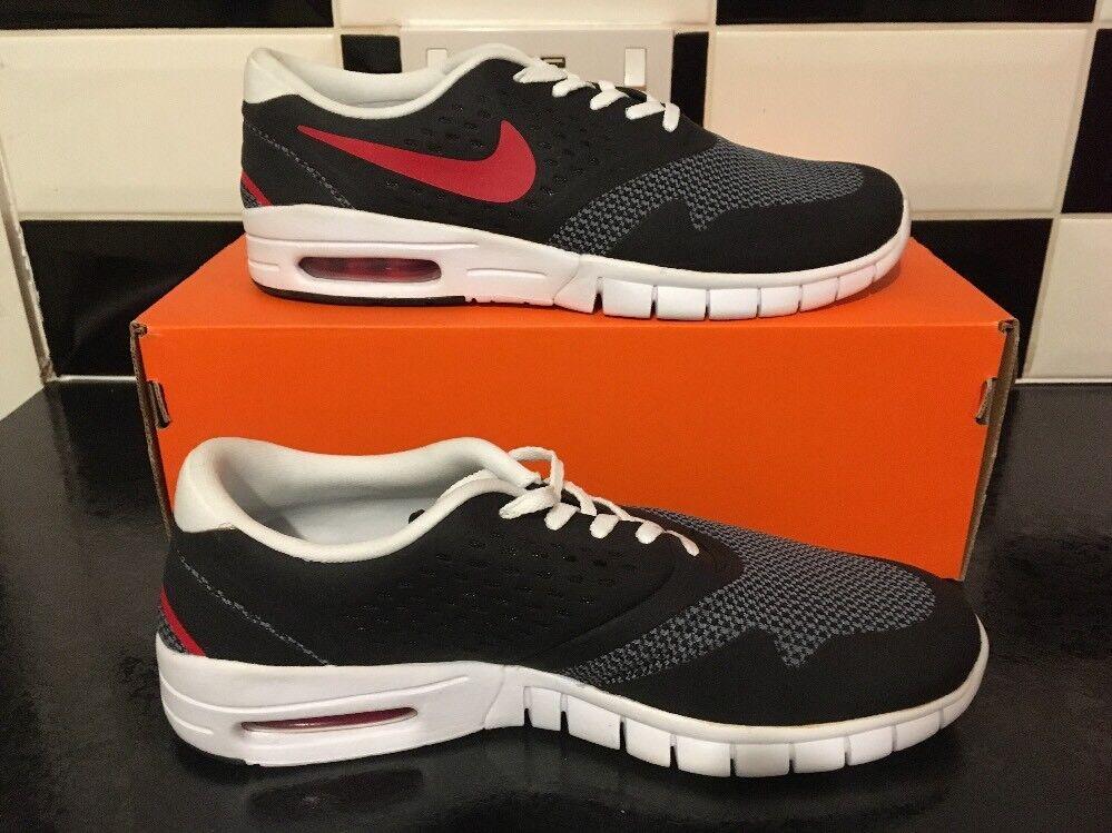 reputable site 40e79 9c460 J77 Nike SB Eric Koston 2 blanco Max negro blanco 2 rojo 631047-060 el  último descuento zapatos para hombres y mujeres d26364