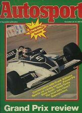 Autosport December 24th 1981 *National Rally Survey*
