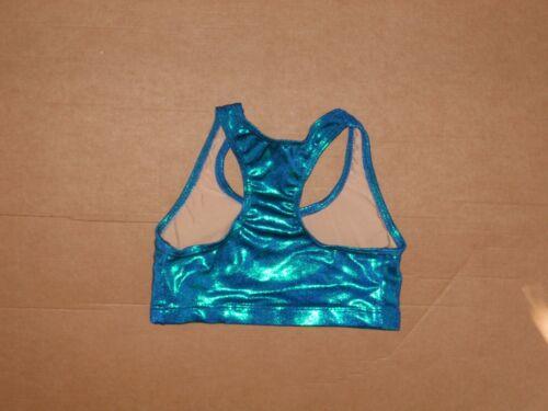 NWT Axis Dance Cheer Racer Back Sportsbra Bra Top Ladies//Girls 97121 5 colors