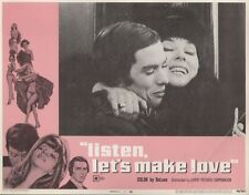 Listen, Let's Make Love 11x14 Lobby Card #7