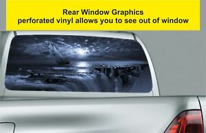 Window-Graphic-Tint-Truck-Jeep-SUV-Fantasy-Pirate-Ship-Sticker-Decal-449