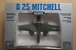 FRANKLIN-MINT-ARMOUR-1-48-B-25-MITCHELL-TONDELAYO-USAF-WWII-ACES