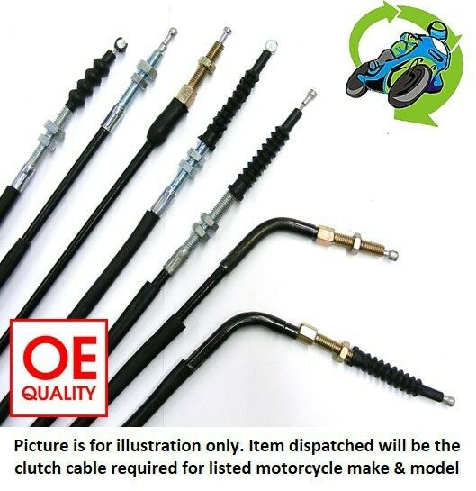 New Quality Clutch Cable fits Kawasaki ZZR 600 (ZX600J7F) 2007