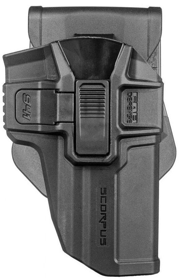 Jericho 941SR SCORPUS® Level 2 Swivel Retention Holster Paddle + Belt 941F