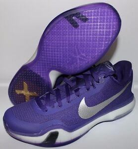Image is loading Nike-Kobe-X-TB-Basketball-Shoes-Purple-White-
