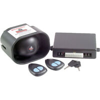 Gts24v Rhino 24 Volt Car Alarm 2 Point Immobiliser Remote Control Alarm System