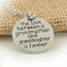 New Arrival The Love Between A Grandmother And Granddaughter Is Forever Necklace