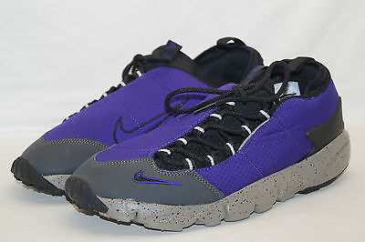 Bello Nike Footscape Nm Court Grigio Viola Tg 43 Uk 8,5 852629-500-mostra Il Titolo Originale