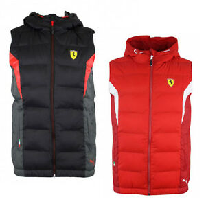 Image is loading Puma-Ferrari-SF-Padded-Gilet-Bodywarmer-Childrens-Kids- 27c712648