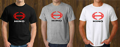 NEW HINO TRUCK LOGO BLACK WHITE GREY TEE MEN/'S SIZE S TO 3XL T-SHIRT