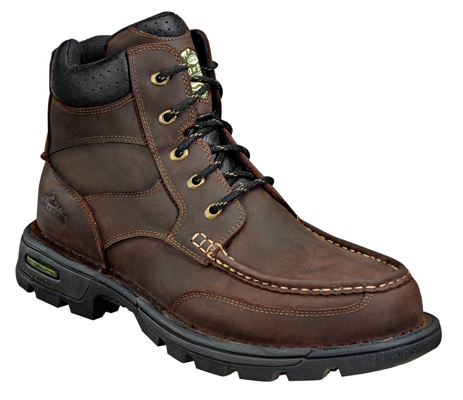 9 M Wood N Stream Thgoldgood Waterproof 6  Moc Toe Pioneer Chukka Crazyhorse 6011