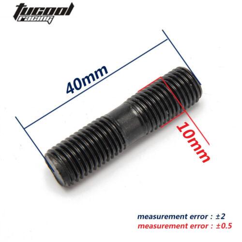 EVO1~10 Turbos Turbo L:40 mm 9 x Stud Kit M10x1.25 For Mitsubishi DSM 1G