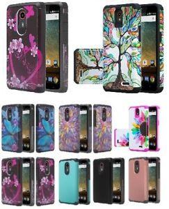 Details about ZTE N817 Quest Slim Hybrid Silicone Diamond Bling Cell Phone  Case Cover Uhura