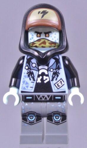 LEGO® NINJAGO AVATAR SCOTT MINIFIGURE FROM SET 71708 WITH EXTRAS 7 PCS BRAND NEW
