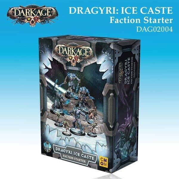 Dark Age Dragyri hielo casta facción de arranque  - DAG02004