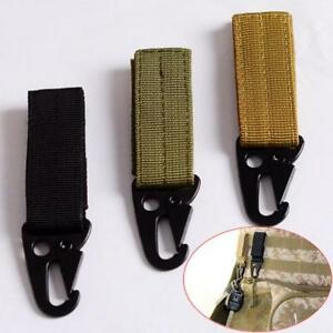 Outdoor Camping Equipment Military Tactical Carabiner Backpack Nylon Hooks Clasp