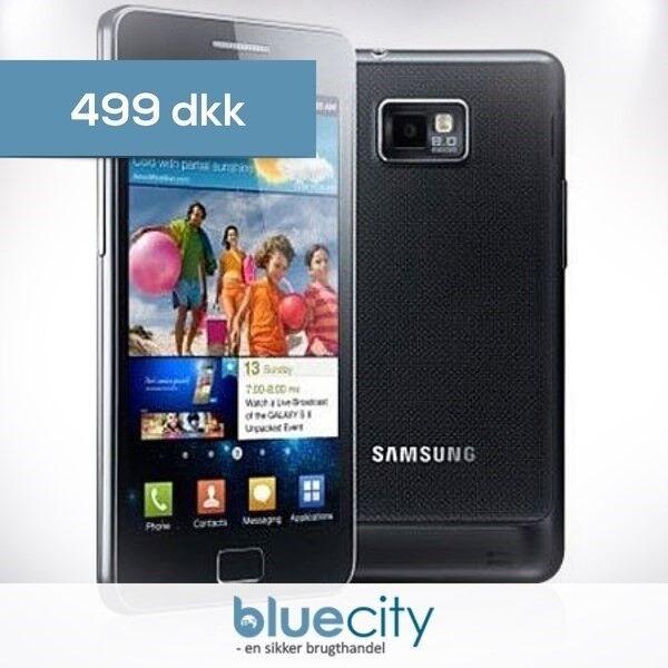 Samsung Samsung Galaxy S2 16GB Sort, Samsung Galaxy S2 16GB