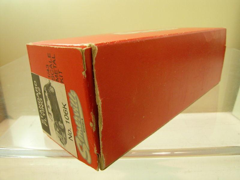 SOMERVILLE SOMERVILLE SOMERVILLE MODELS 106K STANDARD FLYING 12 COLOUR Verde HANDBUILT BOX SCALE 143 21c649