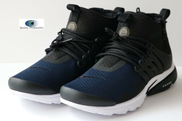 new product 16f8f 6ad32 Nike Air Presto Mid ACRONYM OBSIDIAN NAVY BLUE BLACK AA0868 005 Size 10
