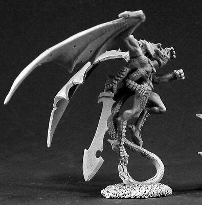 Crymorian Warrior Reaper Miniatures Dark Heaven Legends Lizardman Reptus Melee