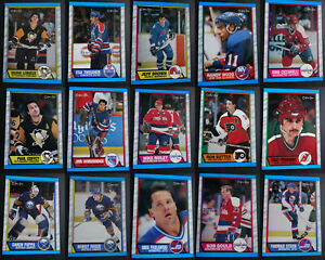 1989-90-O-Pee-Chee-Hockey-Cards-Complete-Your-Set-Pick-From-List